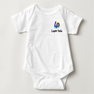 lplogo, Logan Pools Baby Bodysuit