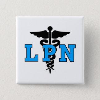 LPN Medical Symbol 15 Cm Square Badge