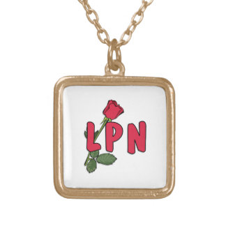 LPN Rose Gold Plated Necklace