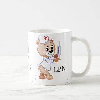 LPN Teddy Bear Mug