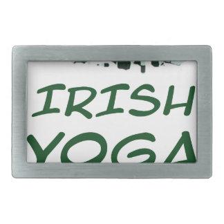 lrish yoga rectangular belt buckles
