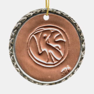 LRS Labyrinth Readers Society Holiday Ornament