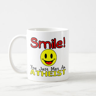 LSF Smile Classic White Coffee Mug