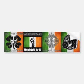 LSS Irish 4 Bumperstickers Bumper Sticker
