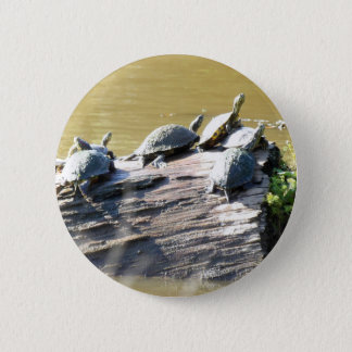 LSU Turtles.JPG 6 Cm Round Badge