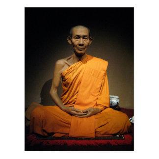 Luang Por Kasem Khemako ... Buddhist Monk Postcard