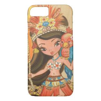 Luau Lulu iphone Cover