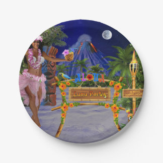 LUAU PARTY PAPER PLATE