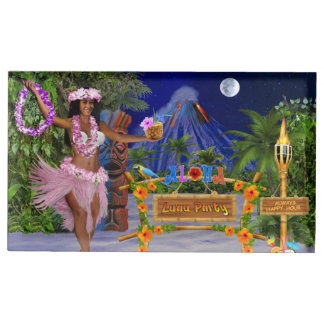 LUAU PARTY PLACE CARD HOLDER