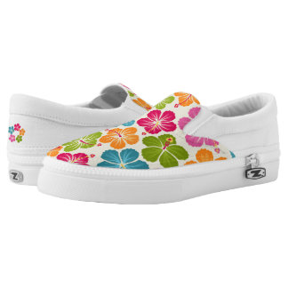 Luau Party Slip On Shoes