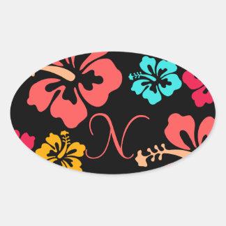 Luau Wedding Stickers