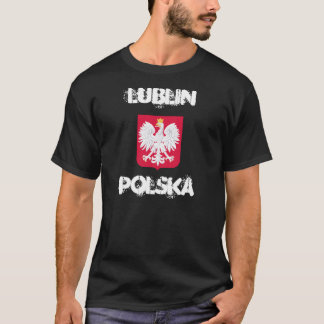 Lublin, Polska, Lublin, Poland with coat of arms T-Shirt