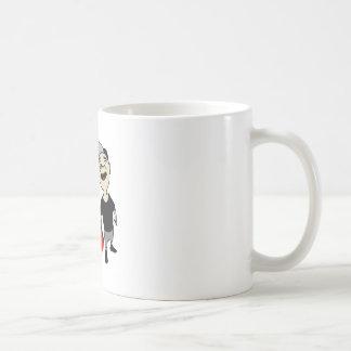 Lubrication finch coffee mug