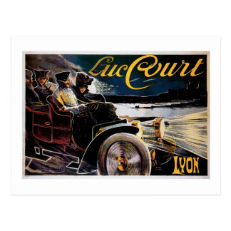Luc Court - Vintage Automobile Advertisement Postcard