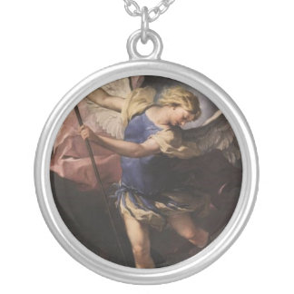 Luca_Giordano_1663_XX_St__Michael_(St__Michael_the Silver Plated Necklace