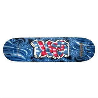 Lucas 01 Custom Graffiti Art Pro Skateboard