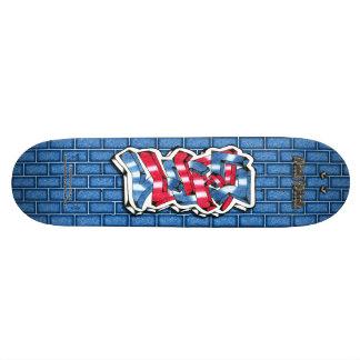 Lucas 02 ~ Custom Graffiti Art Pro Skateboard