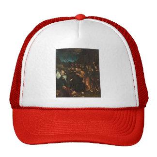 Lucas Cranach the Elder- Arrest of Christ Mesh Hats