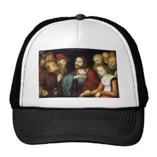 Lucas Cranach the Elder- Christ and the Adulteress Trucker Hat