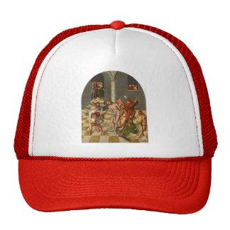 Lucas Cranach the Elder- Flagellation of Christ Mesh Hat