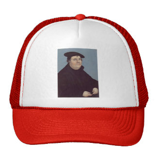 Lucas Cranach the Elder- Portrait of Martin Luther Cap