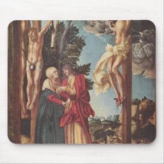 Lucas Cranach the Elder- The Crucifixion Mousepad