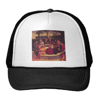 Lucas Cranach the Elder- The Last Supper Trucker Hats