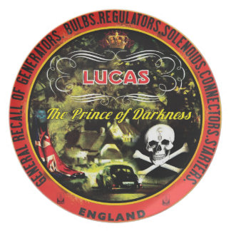 Lucas electronics prince of darkness plate