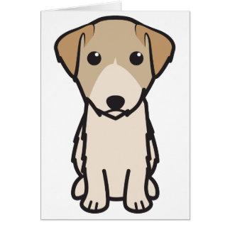 Lucas Terrier Dog Cartoon Card