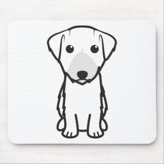 Lucas Terrier Dog Cartoon Mouse Pad