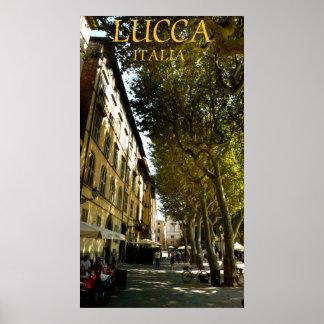lucca italia poster