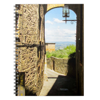 Lucca, Italy Photo Print Notebook