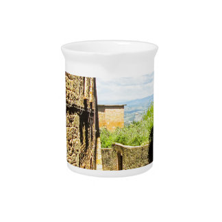 Lucca, Italy Photo Print Pitcher