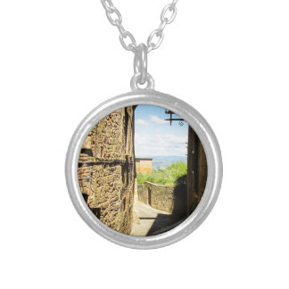 Lucca, Italy Photo Print Silver Plated Necklace