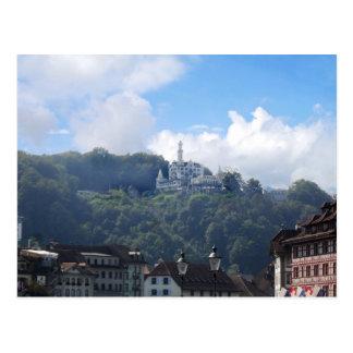 Lucerne Chateaux Gutsch Postcard