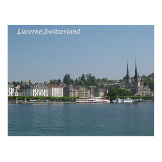 Lucerne ,Switzerland Postcard