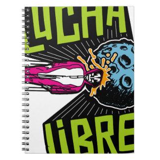LUCHA IMPACT NOTEBOOK