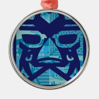 LUCHA LIBEY dos Metal Ornament