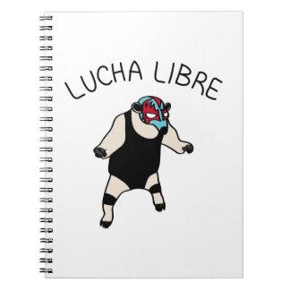 LUCHA LIBRE#25 NOTEBOOK