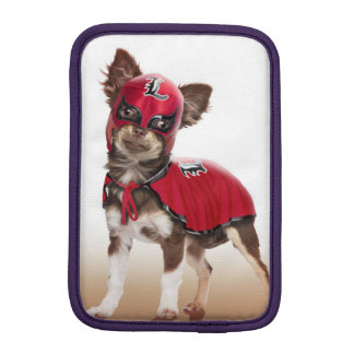 Lucha libre dog ,funny chihuahua,chihuahua iPad mini sleeve