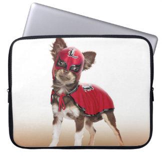 Lucha libre dog ,funny chihuahua,chihuahua laptop sleeve