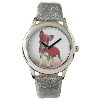 Lucha libre dog ,funny chihuahua,chihuahua wrist watches
