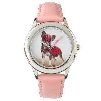 Lucha libre dog ,funny chihuahua,chihuahua wristwatch