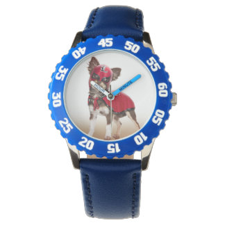 Lucha libre dog ,funny chihuahua,chihuahua wristwatches