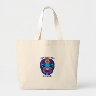 Lucha Libre Lover Tote Bags