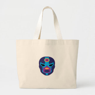 Lucha Libre Mask Canvas Bag