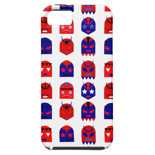 lucha libre masks iPhone 5 covers