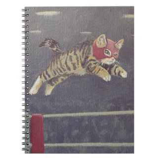 Luchador Kitty Notebooks