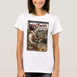 Luchon Travel Casino Poster T-Shirt