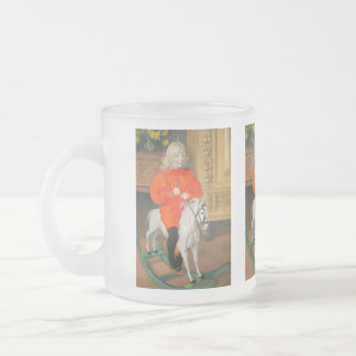 Lucia Day Rockinghorse Frosted Glass Coffee Mug